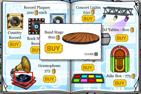 CP Band Stage cheat