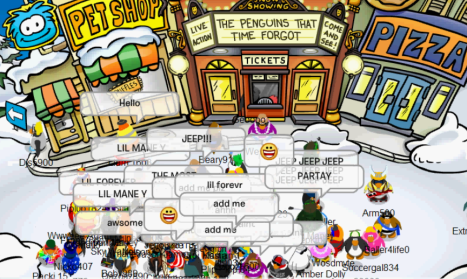 Cp Hood Party