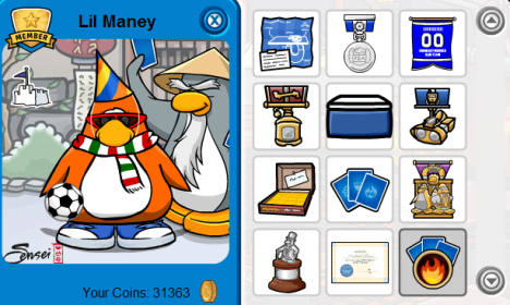 club penguin how to start card jitsu